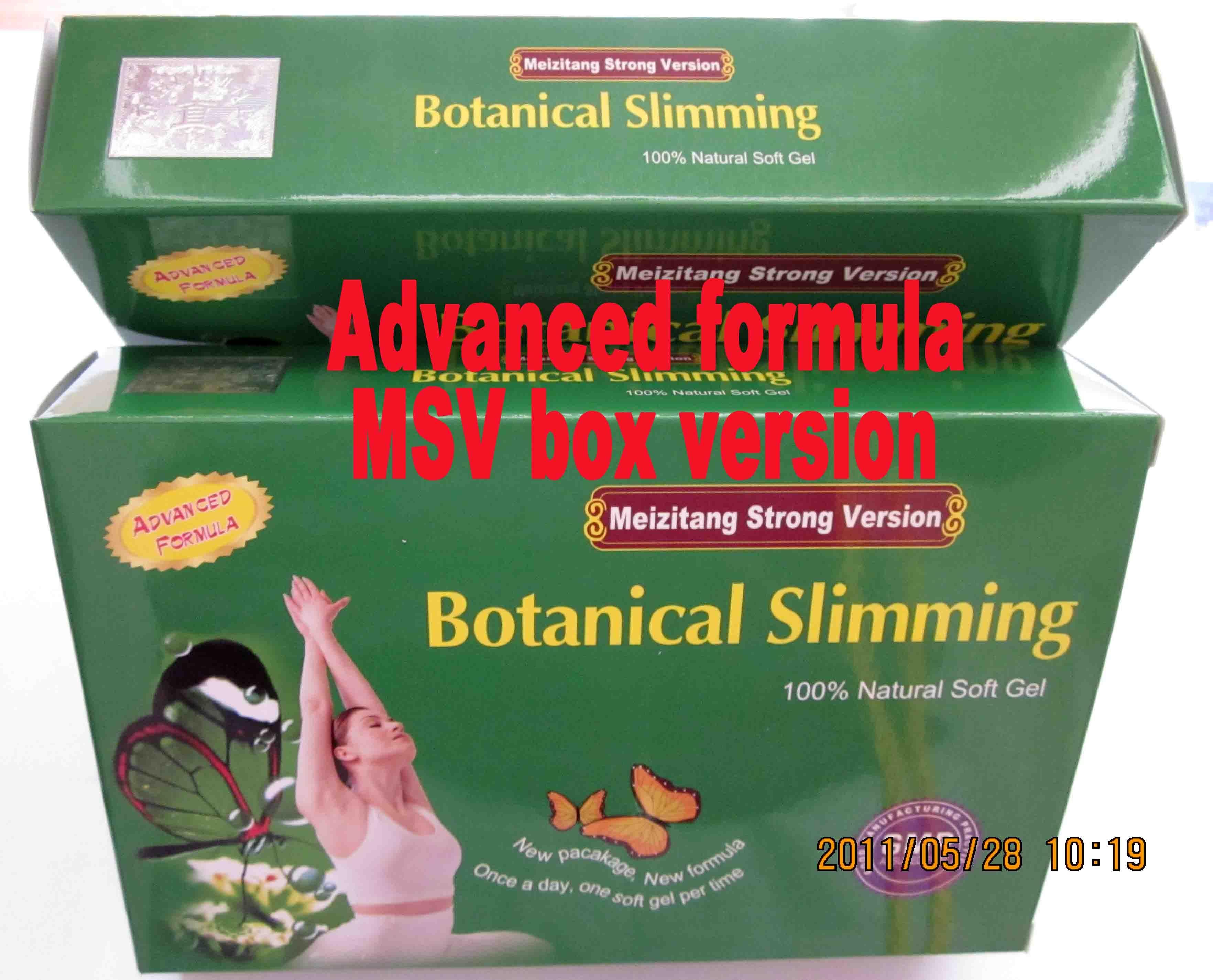 botanic slimming msv