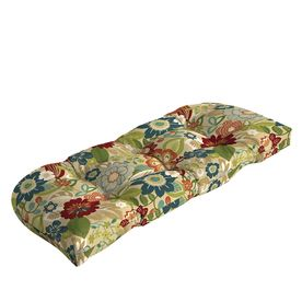 Garden Treasures Bloomery Floral Cushion For Loveseat Af11536b