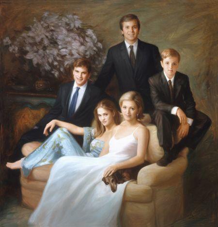 "Oil Portraits by Dorian Vallejo doriansportraits.com450 × 468Buscar por imagen The Barbier Family oil on canvas 82"" ..."
