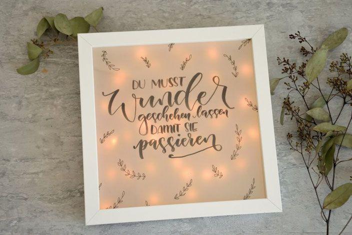 Letter lovers zu gast malen tanglen lettern handlettering einfach und anleitungen - Lightbox selber machen ...