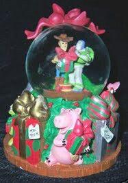Toy Story Christmas Snow Globe
