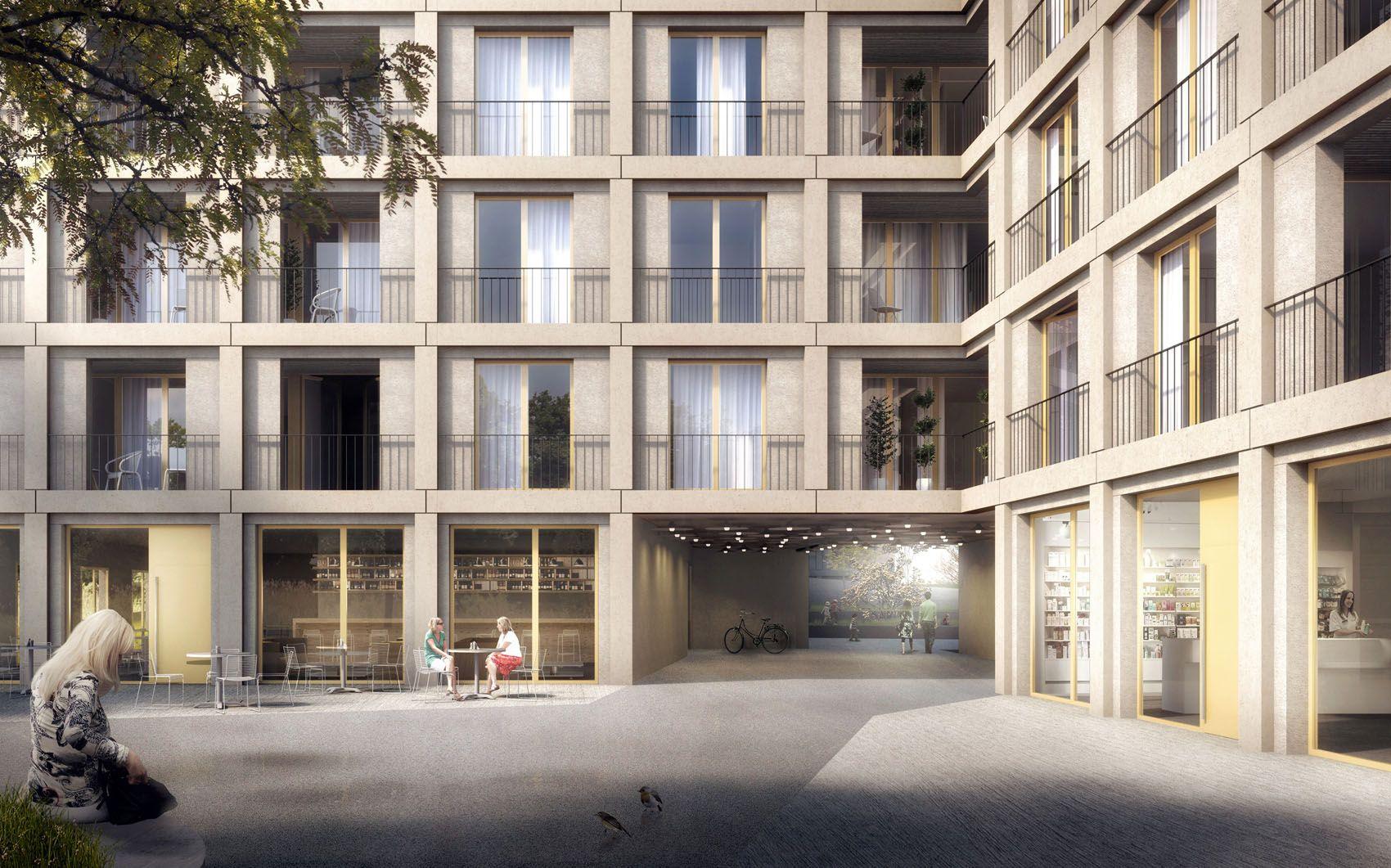 TRIBU architecture - Genf - Quartier