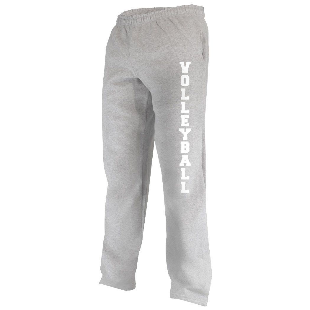 Volleyball Fleece Sweatpants Text Volleyball Apparel Comfortable Volleyball Sweatpants Adult Mediu Fleece Sweatpants Volleyball Fleece Softball Outfits