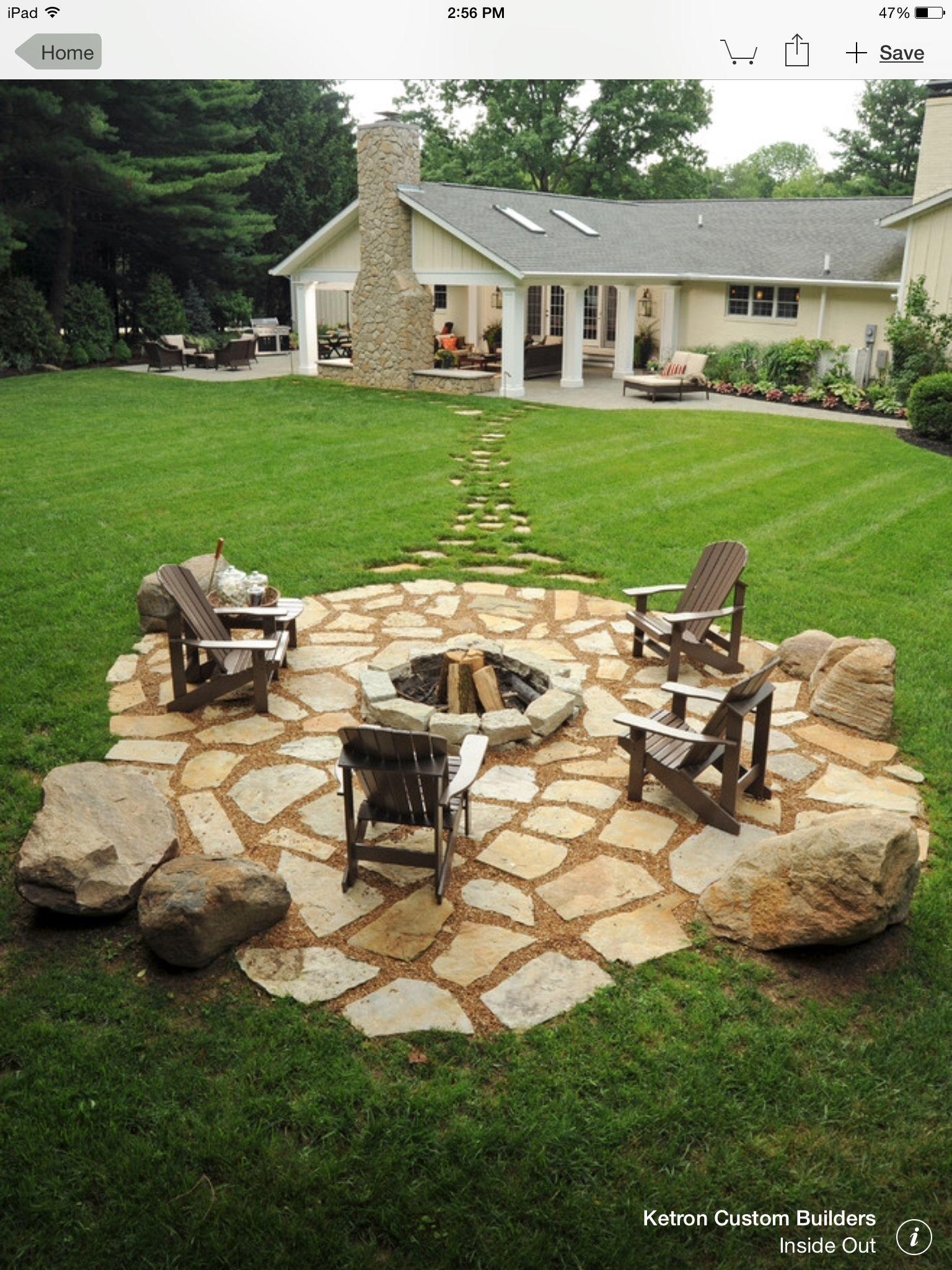 my dream fire pit area creative backyard ideas