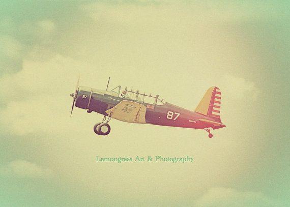Antique Airplane Aviation Photography Fine Art Prints