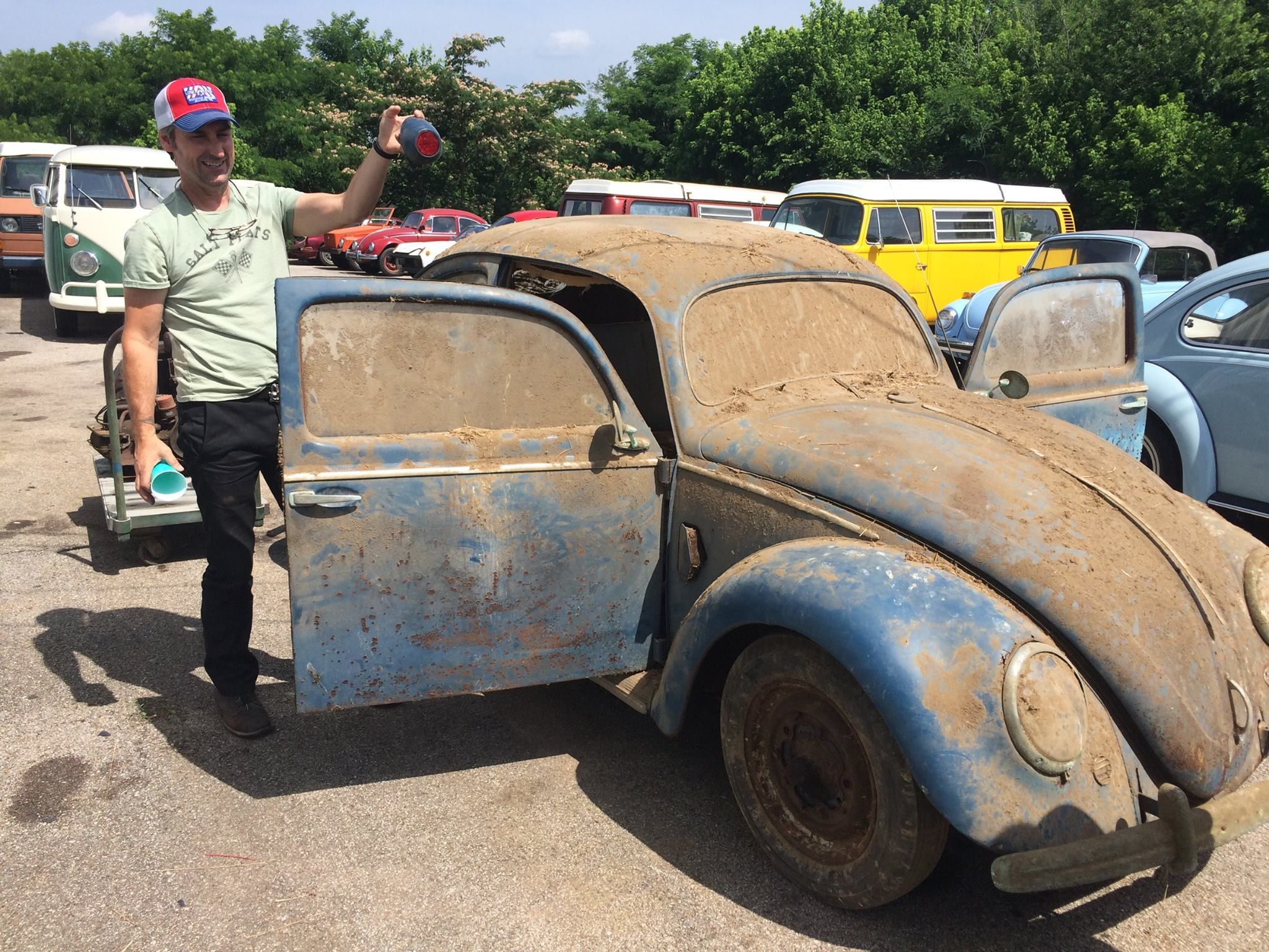 American Pickers 1952 Crotch Cooler Find Volkswagens And