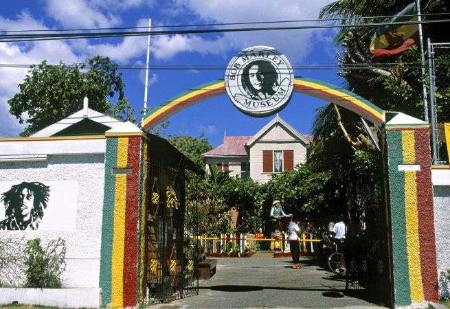 bob marley museum in kingston jamaica bob marley