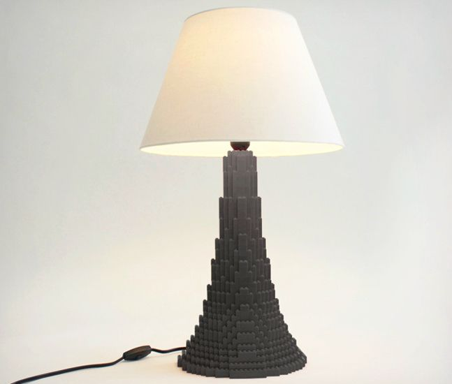 Marvelous LEGO Table Lamp