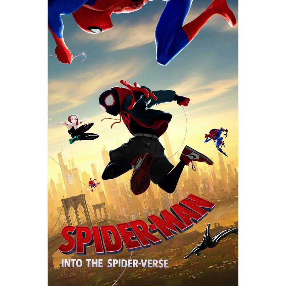 Spider Man Into The Spider Verse Dvd In 2020 Spider Verse Spiderman Marvel