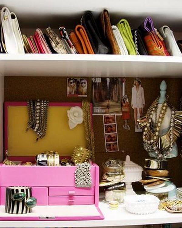 Ideas Of Functional And Practical Walk In Closet For Home: Handbag Storage, Home Organization, Home