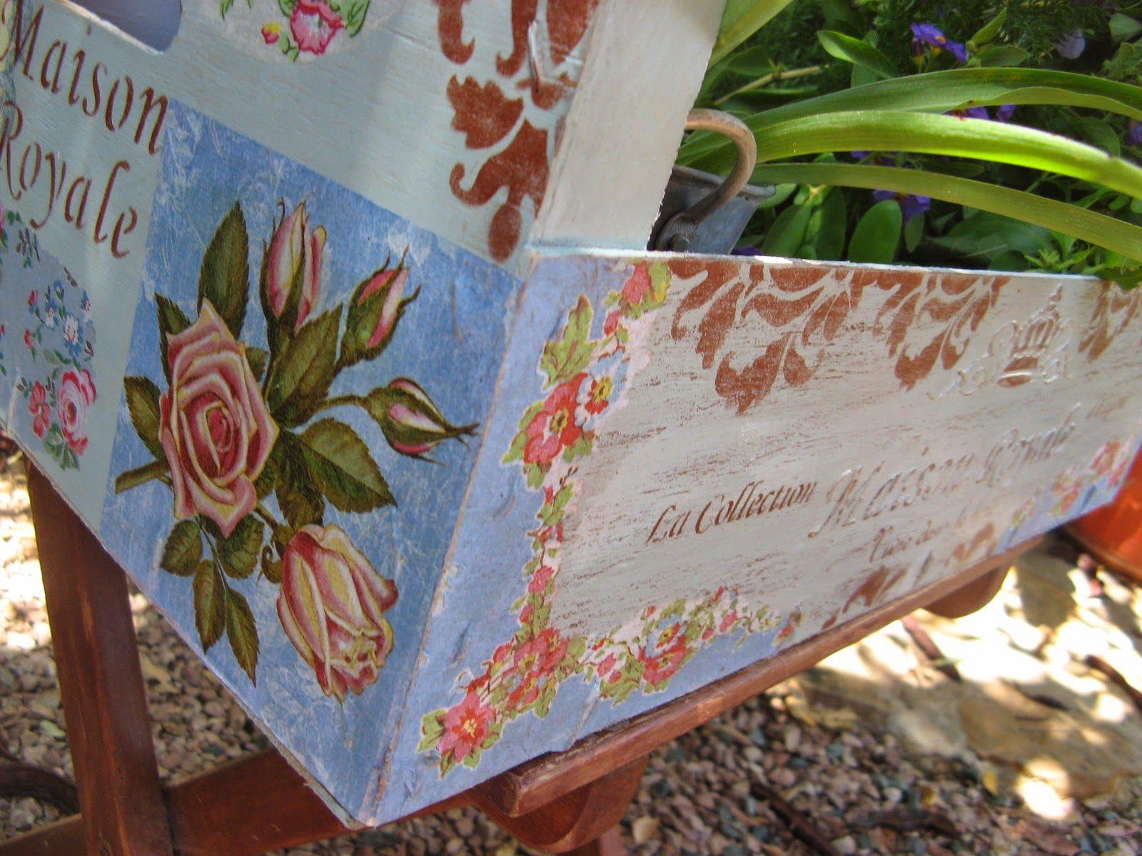 Lateral decorado trabajos manualidades y bricolaje pinterest decoupage manualidades y - Manualidades y bricolaje ...