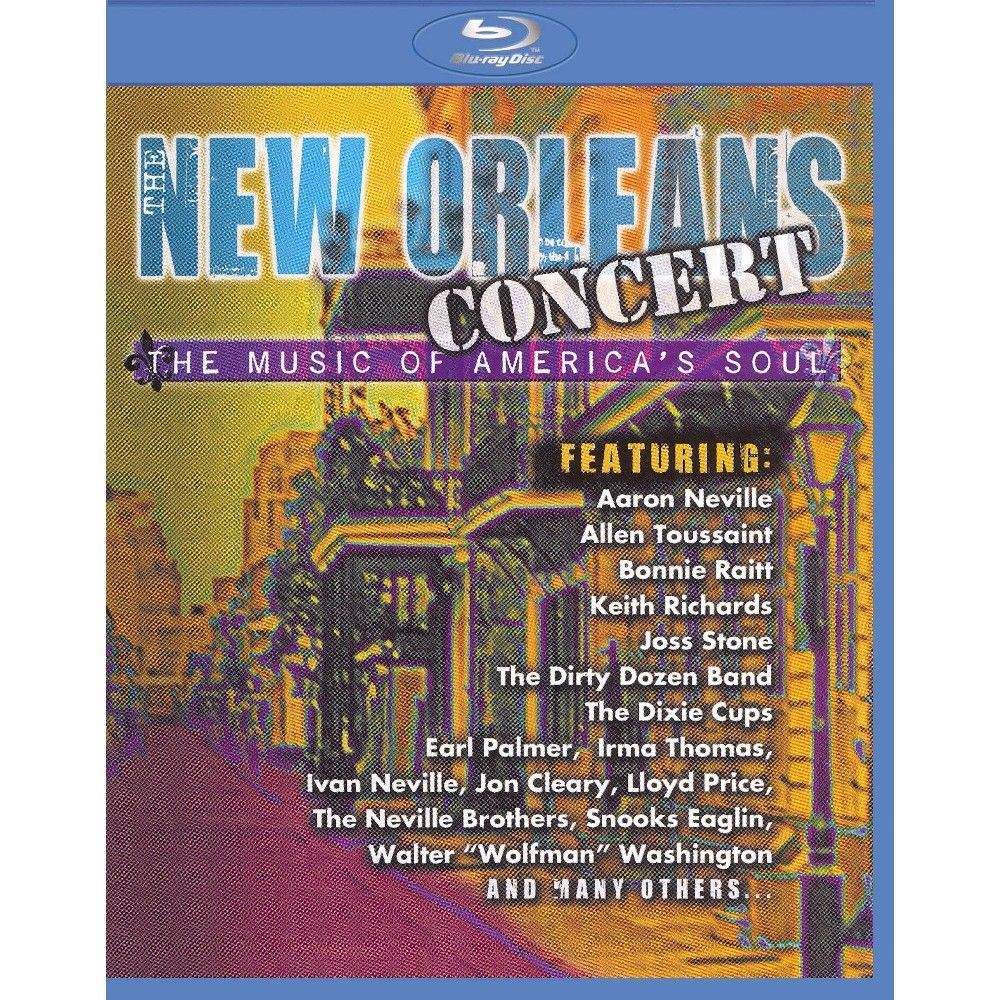 New Orleans Concert: The Music of America's Soul (Blu-ray)