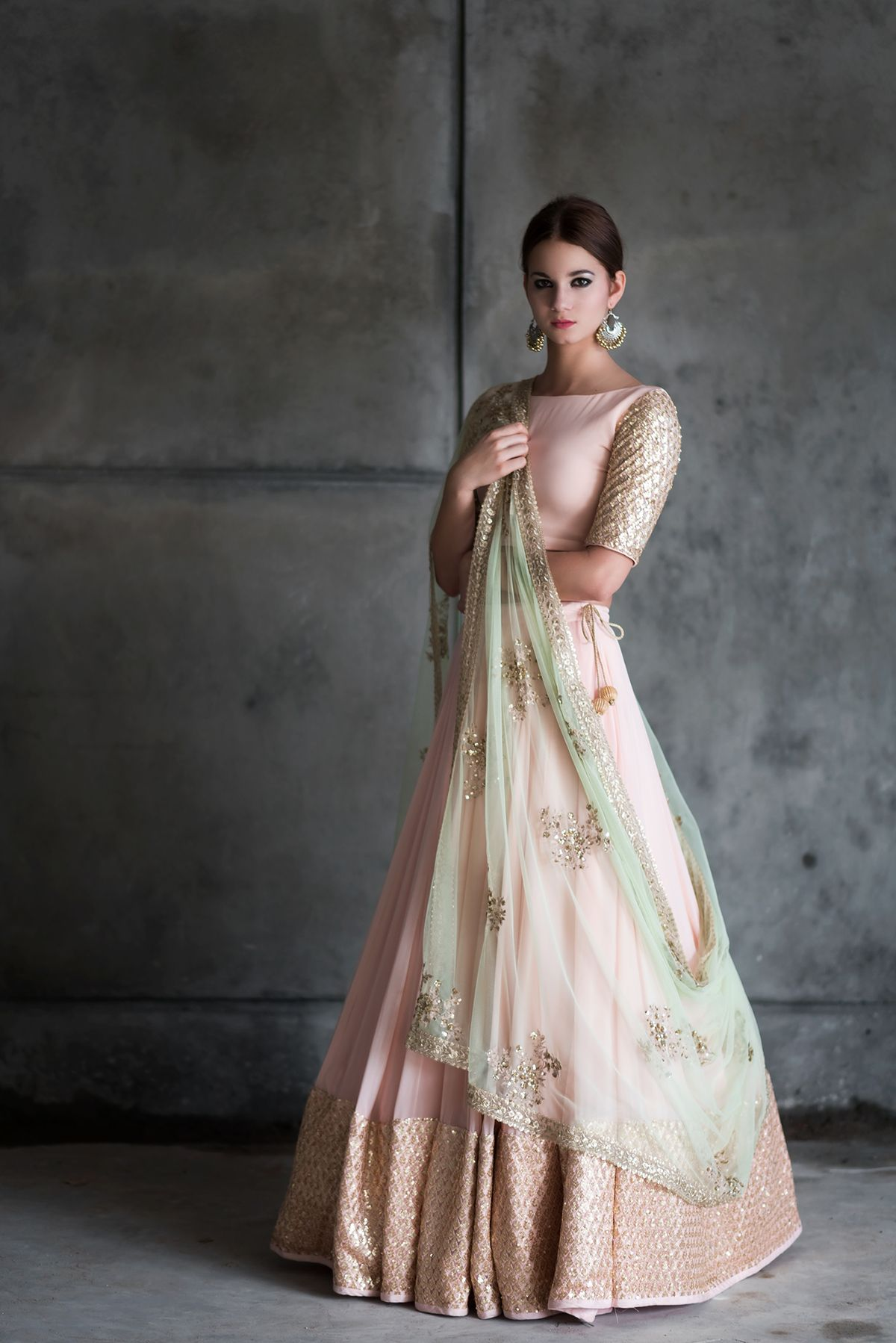 The Winter Festive Look Book 2016 for Indian designer ...