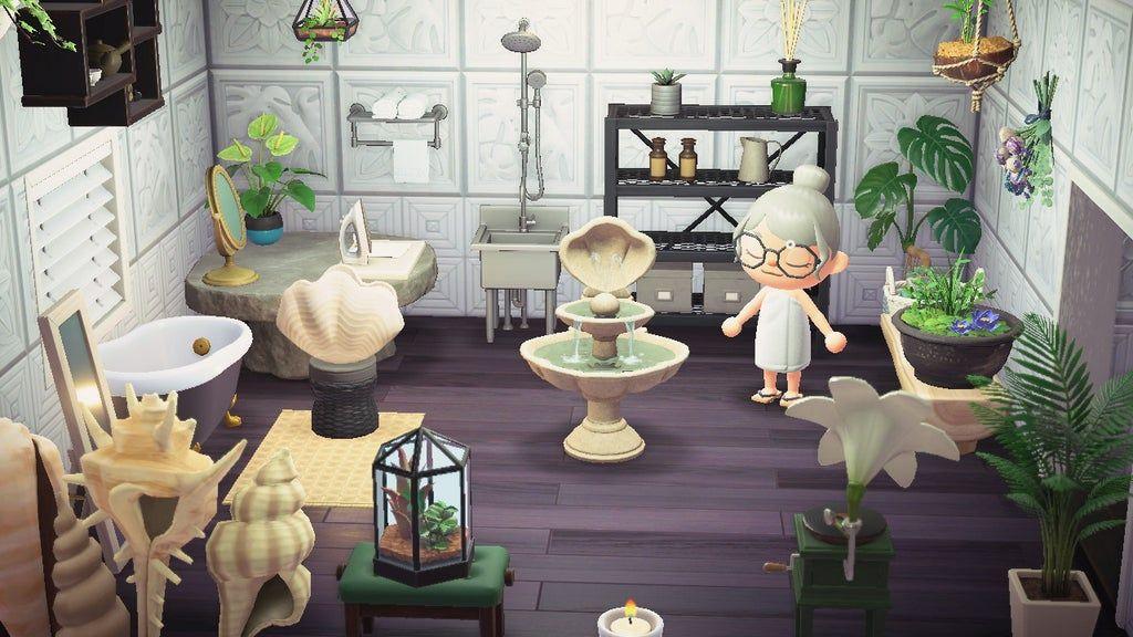 botanical themed bathroom!