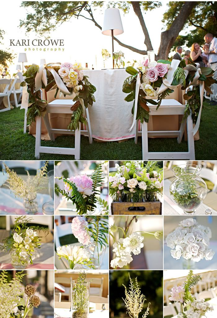 Amazing Wedding at Mimi's Garden and the Camp House  Photography: Kari Crowe Floral: Debbie with  Branching Out Events