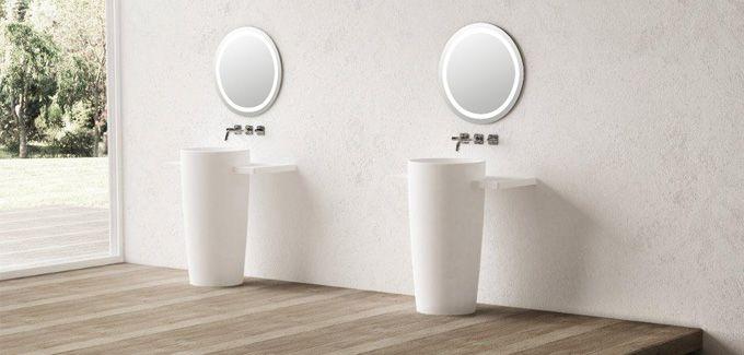 Des vasques en colonne. | Exkluzív szaniterek | Pinterest | Restaurants