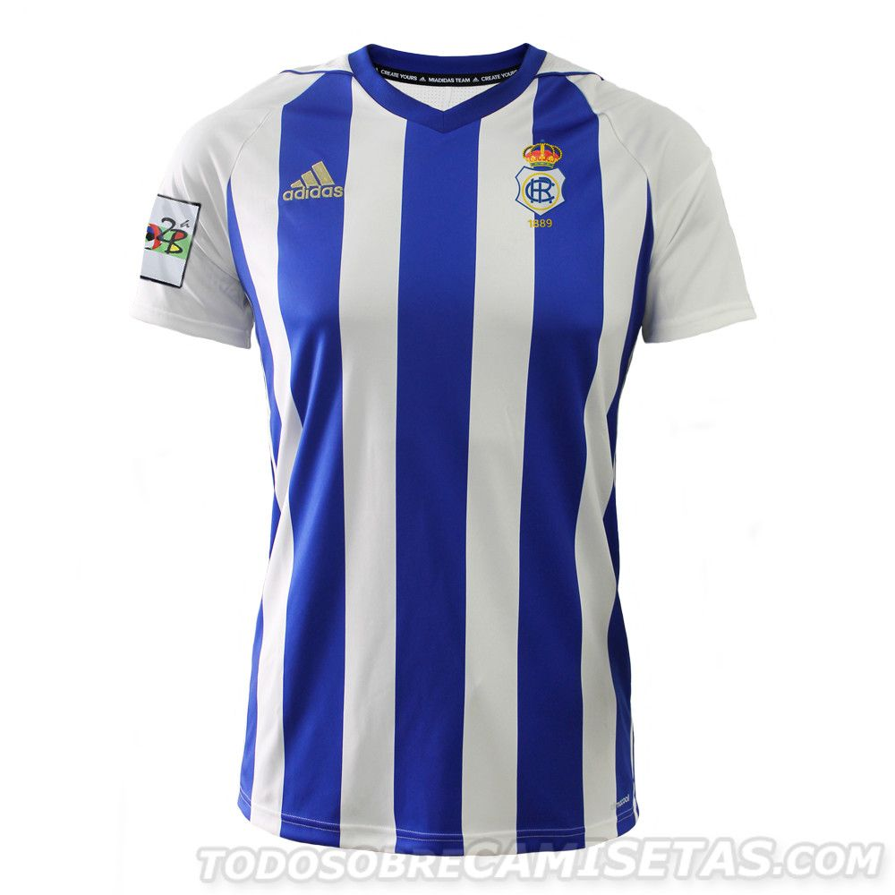 Equipaciones Adidas Del Recreativo De Huelva 2018 19 Adidas Recreativos Camisetas