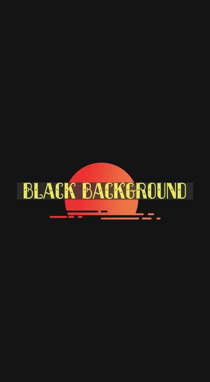Black Background Minimalism Sunset Portrait Display K