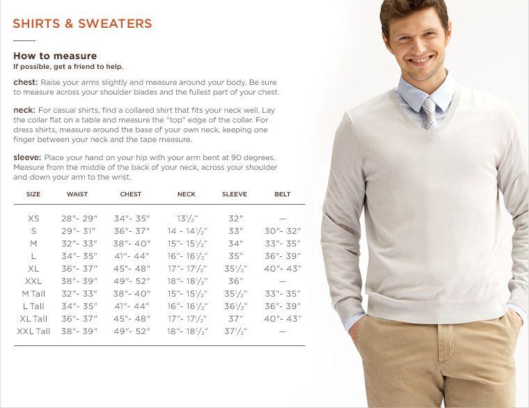 Banana republic shirt and sweater size chard style tips