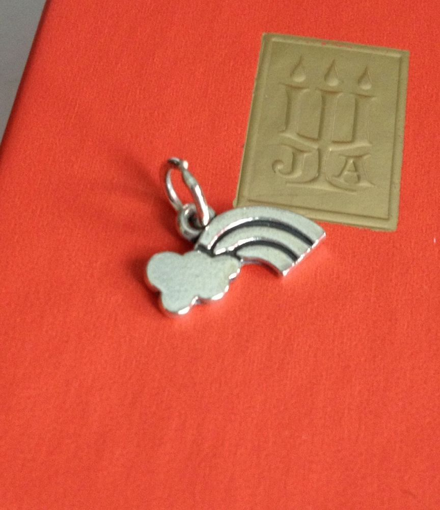 Retired James Avery Sterling Silver Rainbow With Cloud