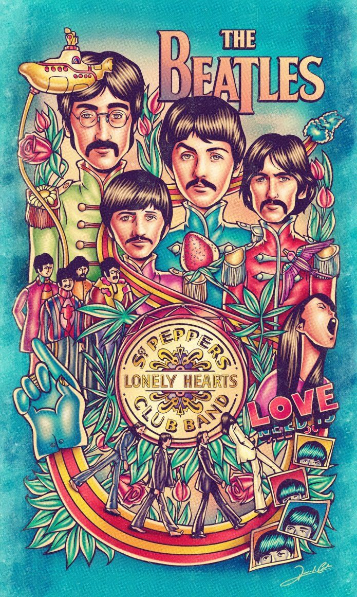 Sargent Peppers Lonely Hearts Club Band Wallpaper Worthy The