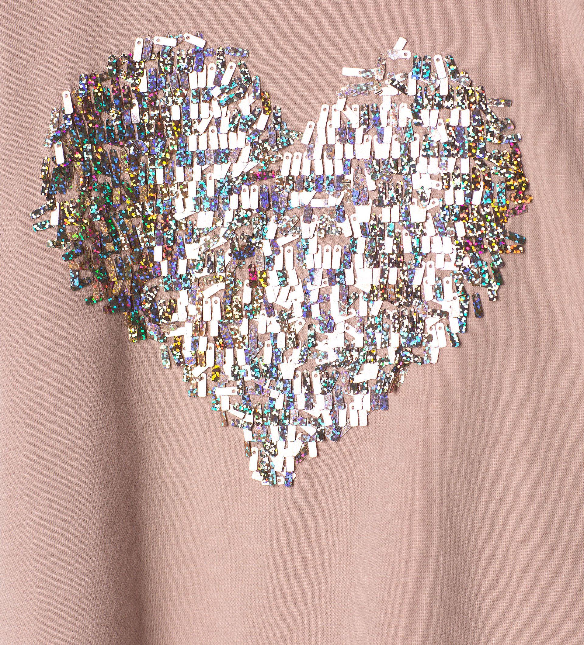 0fd91c7c5 Camiseta corazón lentejuelas - Ver todo - Camisetas - Niña - Niños ...