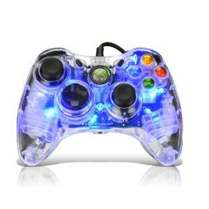 Afterglow Ax 1 Controller For Xbox 360 Blue Color Coded Circuit