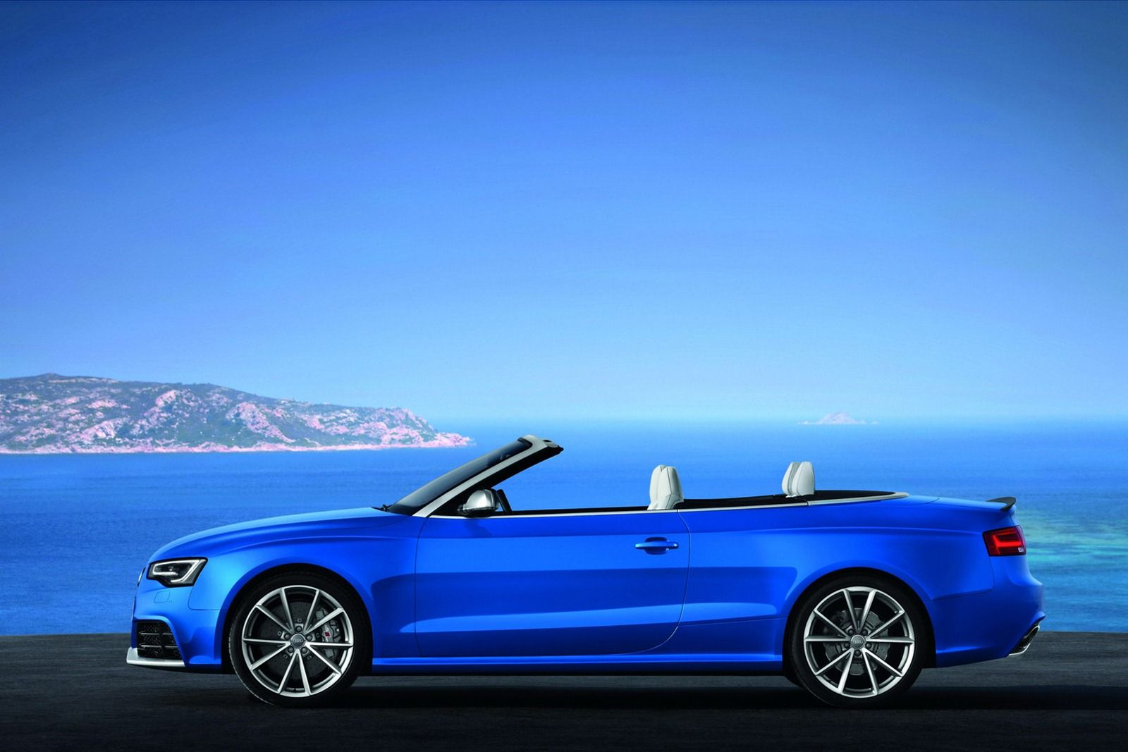 Audi Rs5 B8 Convertible 2013 Voertuigen Blauw