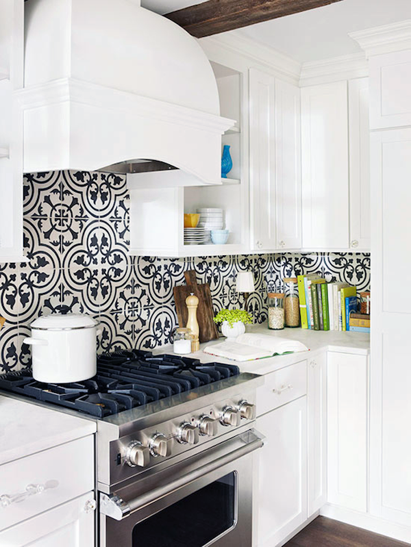 Learn How To Get The Graphic Tile Look, Without The Expensive Price Tag.