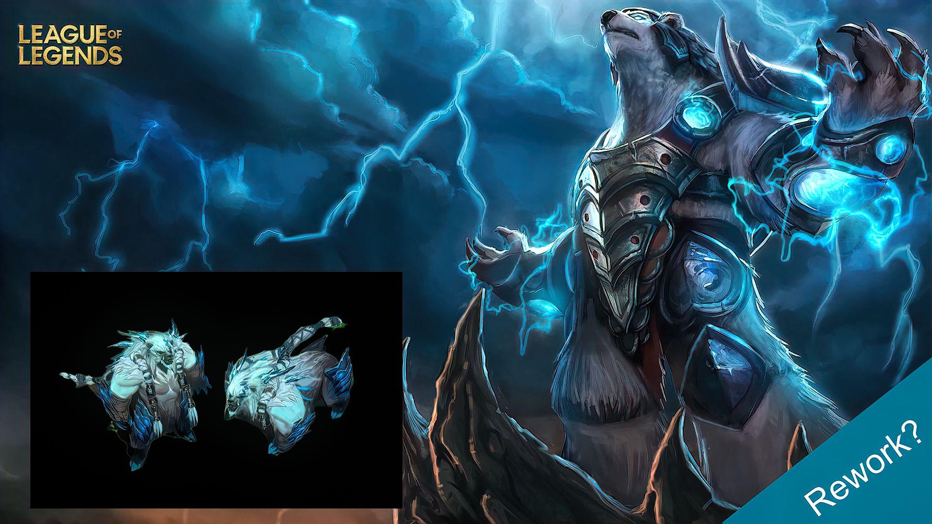 League Of Legends Volibear Rework Revealed L2pbomb In 2020 League Of Legends Lol Champions Legend