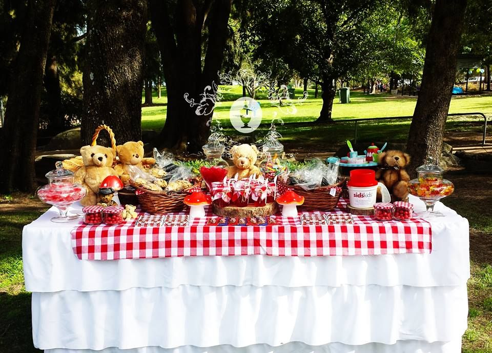 Teddy Bears Picnic Buffet By Platinum Invitations & Candy Buffets ...