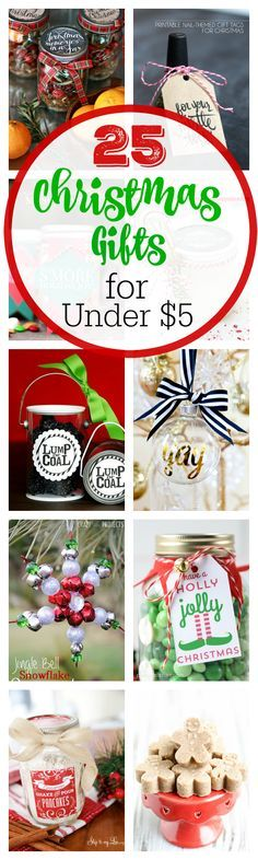 25 Cheap Gifts for Christmas-Under $5 | Cheap christmas ...