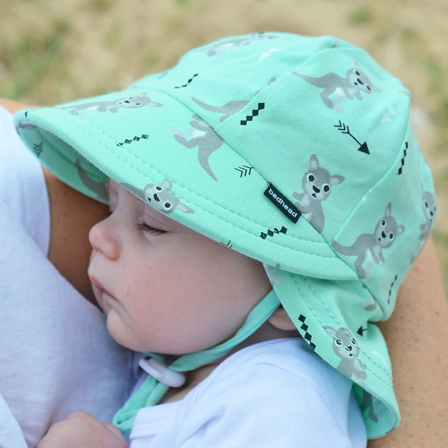 Legionnaire Boys Sun Hat with Strap - Bedhead Hats - UPF 50+