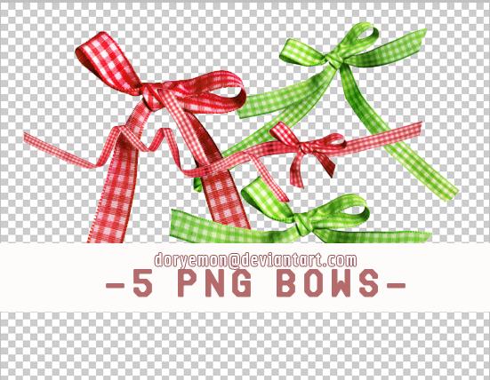 5 PNG' BOWS by ryeddh20.deviantart.com on @deviantART