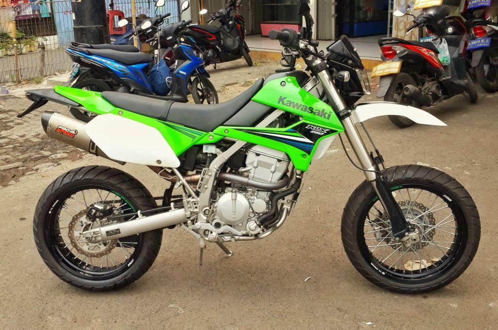 Klx 250 Supermoto Convertion Motorcycle Motorcycle Gear