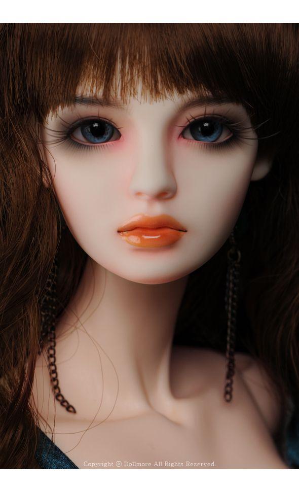 Dollmore Ball articulée poupée catish poupée fille REAA Head blanc