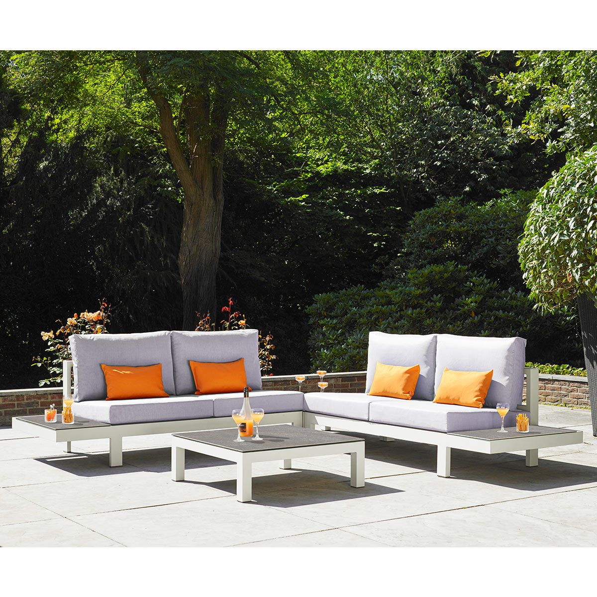 LIFE Outdoor Living Lava 3 Piece Lounge Set Outdoor