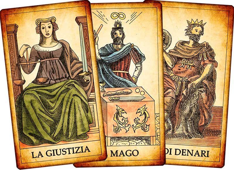 A mysterious deck, with Italian origins: the tarots ...