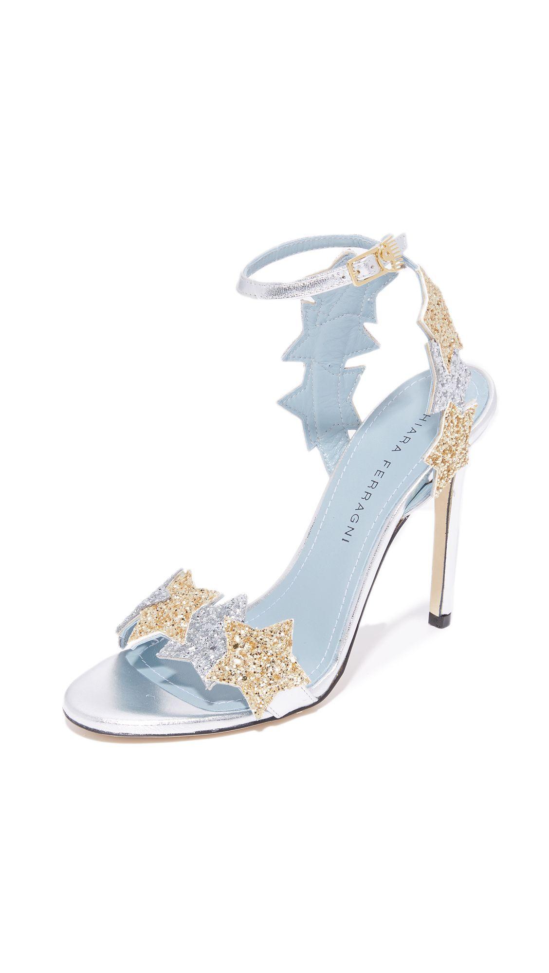 66d79e5737f20 Star Sandals by Chiara Ferragni Designer Heels for a Wedding ...