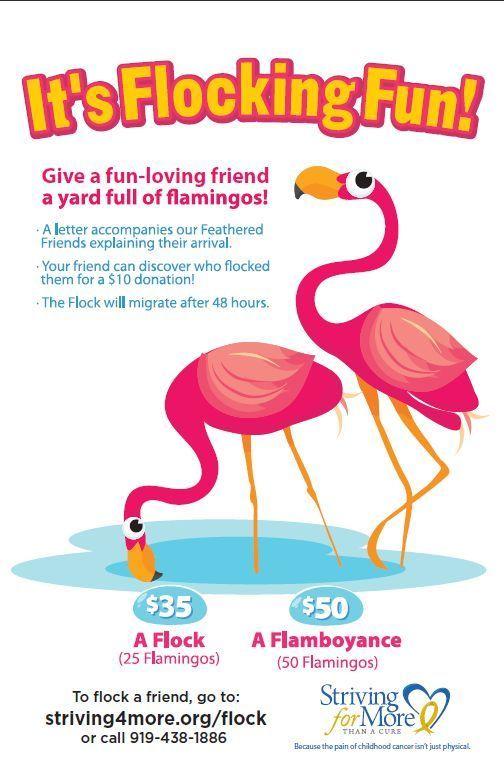 flamingo fundraiser - Google Search RETAIL INTERIORS IDEAS - fund raiser thank you letter