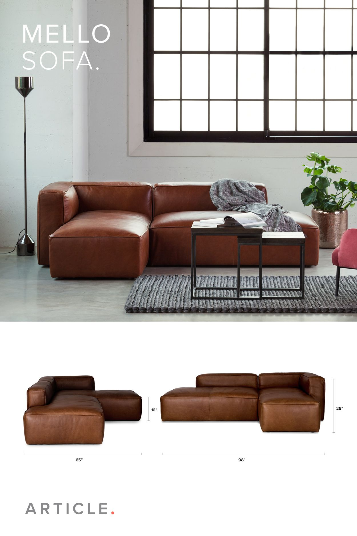Taking The Cake For Comfort And Style The Mello Sofa Is Modular Offering Endless Configurations Living Room Loft Home Living Room Living Room Inspiration