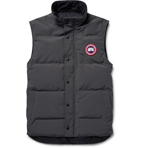 Canada Goose Garson Slim Fit Quilted Shell Down Gilet Black Modesens Canada Goose Canada Goose Mens Canada Goose Gilet