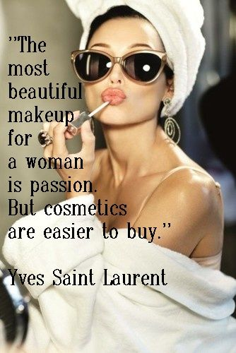 Yves Saint Laurent | Fabulous Quotes