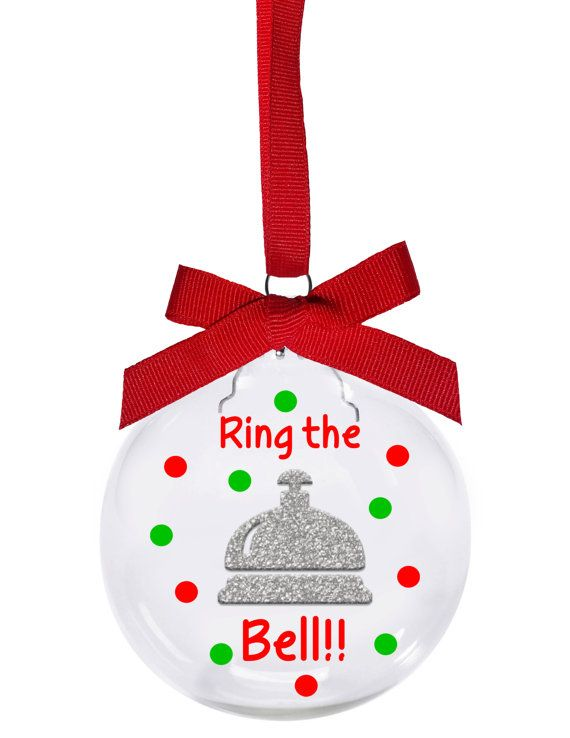 Bunco Christmas ornament is a 3 glass ornament with the design floating  inside. The bell is a pretty silver glitter vinyl (which doesnt show very  well in ... - Ring The Bell!! Bunco Christmas Ornament Is A 3 Glass Ornament With