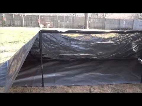 reflective tarp setup & reflective tarp setup | Shelter and Clothing | Pinterest | Shelter ...
