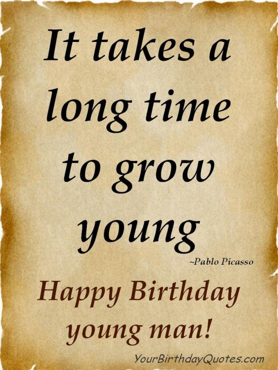 Happy Birthday Wishes Quotes for Man http//www