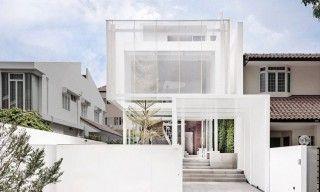 這個半透明白盒在新加坡是一個極簡主義者的夢想