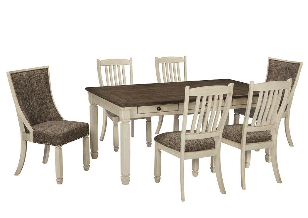 Furniture U0026 Merchandise Outlet   Murfreesboro U0026 Hermitage, TN Bolanburg  Antique White Rectangular Dining Room