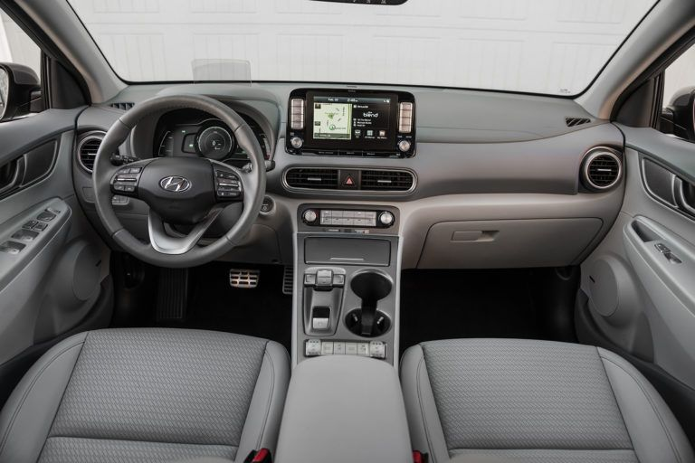 2019 Hyundai Kona Electric CUV detailed specs, battery