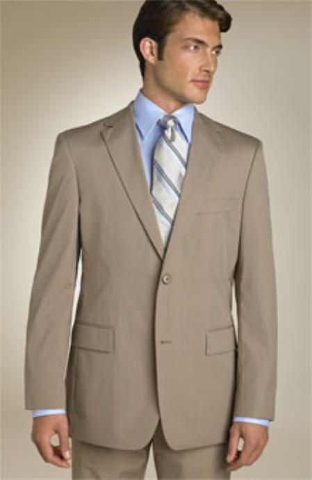 2b4858b54b4 Mens Dark Tan 2 Button Wool Business Suit. We have collection of Wool Suit  with unique design